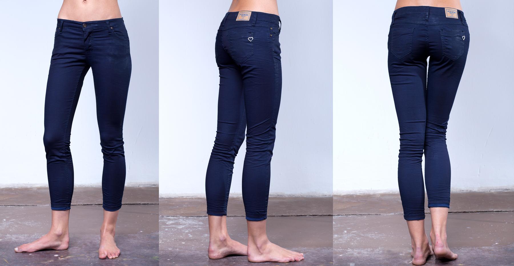 Jeans am Model